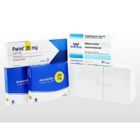 ピロリ菌除菌B(二次治療)セット+ピロリ菌検査キット 1セット