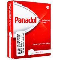 PanadolExtra500mg+caffeine65mg24錠 1箱