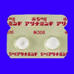 5mgアリナミンF糖衣錠:100錠(10錠×10)