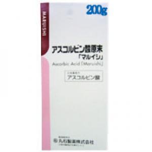 アスコルビン酸原末「マルイシ」:200g