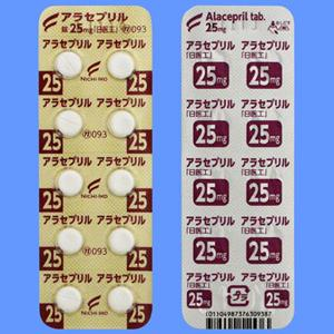 アラセプリル錠25mg「日医工」 10錠×10シート