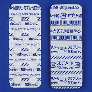 アロプリノール錠100mg「サワイ」 100錠