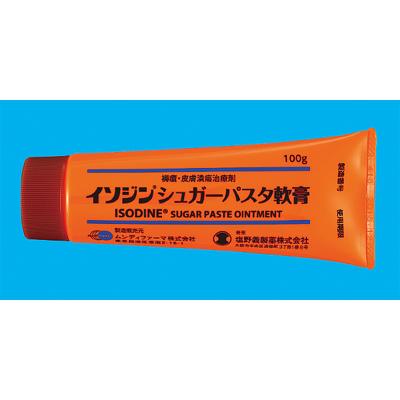 イソジンシュガーパスタ軟膏(チューブ):100g