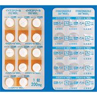 イトラコナゾール錠200「MEEK」 14錠(PTP)