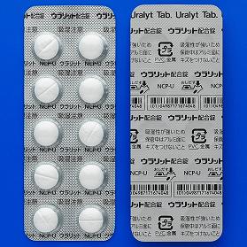 ウラリット配合錠:100錠(10錠×10)