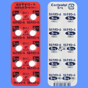 カルテオロール塩酸塩錠5mg「日医工」 100錠