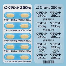 が レボフロキサシン まで 効果 出る