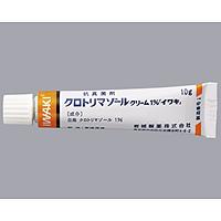 クロトリマゾールクリーム1%「イワキ」:10g×10本(クロストリンクリーム1%)