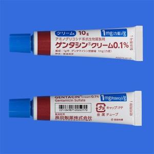 ゲンタシンクリーム0.1%:10g×5個