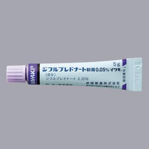 ジフルプレドナート軟膏0.05%「イワキ」:5g×10(旧名称:スチブロン軟膏0.05%)