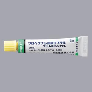 パルデスクリーム0.05%:5g×10本