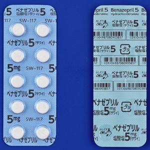 ベナゼプリル塩酸塩錠5mg「サワイ」 50錠(10錠×5シート)