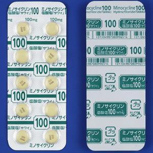 ミノサイクリン塩酸塩錠100mg「サワイ」 10錠×5シート
