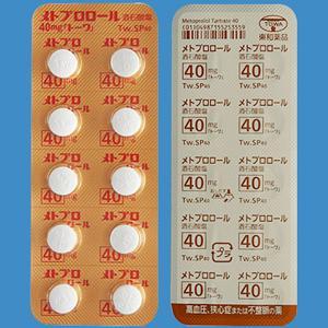 メトプロロール酒石酸塩錠40mg「トーワ」 100錠(10錠×10)