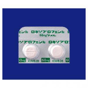 ロキソプロフェンNa錠60mg「アメル」:100錠(旧販売名 ロキペイン錠60mg)