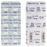 エバステル錠10mg 20錠(10錠×2シート)(使用期限:2020年10月)