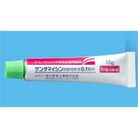 ゲンタマイシン硫酸塩軟膏0.1%「F」:10g×10