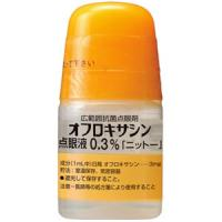 オフロキサシン点眼液0.3%「ニットー」:5ml(旧名称:オフロキシン点眼液0.3%)