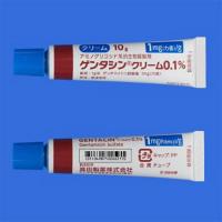 ゲンタシンクリーム0.1%:10g×10個