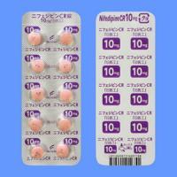 ニフェジピンCR錠10mg「日医工」 100錠(10錠×10)