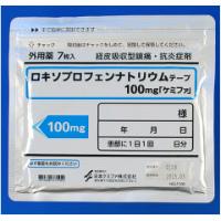 ロキソプロフェンナトリウムテープ100mg「ケミファ」:21枚(7枚×3袋)