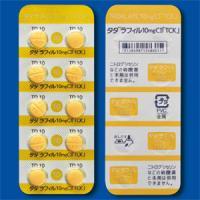 タダラフィル錠10mgCI「TCK」 4錠(PTP)